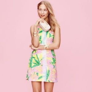 Lilly Pulitzer For Target Fan Dance Flamingo Dress